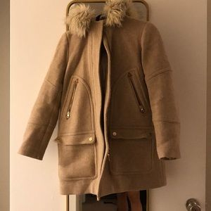 Jcrew stadium cloth coat 6P